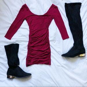 hot tamale bodycon dress